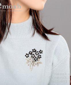 Cài áo hình bông hoa ELCA26