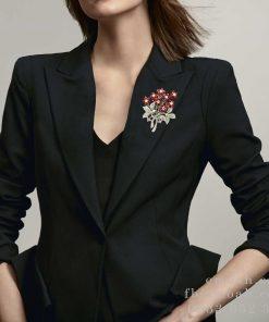 Cài áo hình bông hoa ELCA27