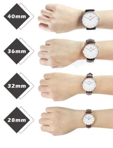 Chọn đồng hồ phù hợp với tay bạn